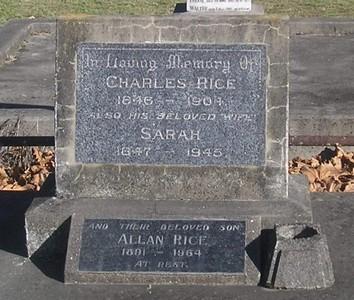 Picture of Makaraka cemetery, block MKA, plot 14.