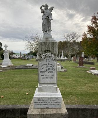 Picture of Makaraka cemetery, block MKA, plot 267.