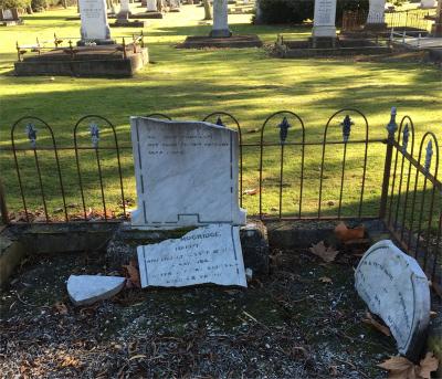 Picture of Makaraka cemetery, block MKA, plot 4A.