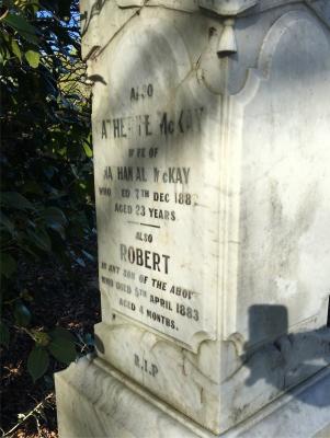 Picture of Makaraka cemetery, block MKA, plot 6.