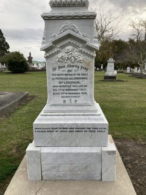 Picture of Makaraka cemetery, block MKB, plot 100B.