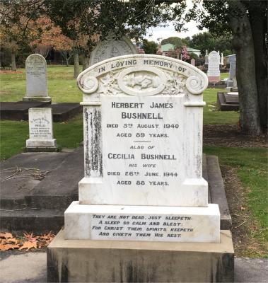 Picture of Makaraka cemetery, block MKB, plot 110A.