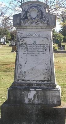 Picture of Makaraka cemetery, block MKB, plot 160.