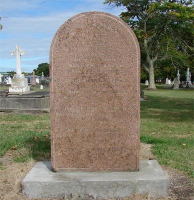 Picture of Makaraka cemetery, block MKB, plot 163.