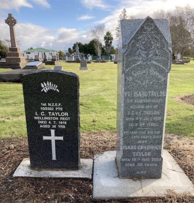 Picture of Makaraka cemetery, block MKB, plot 192.