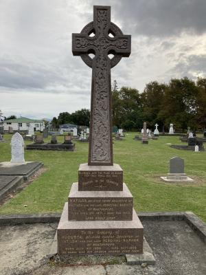 Picture of Makaraka cemetery, block MKB, plot 640.