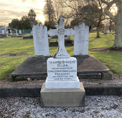 Picture of Makaraka cemetery, block MKB, plot 648.