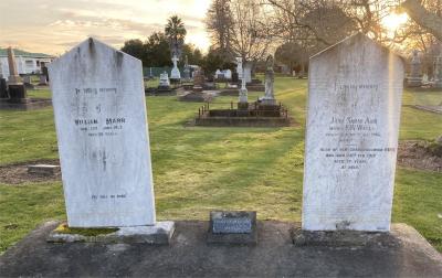 Picture of Makaraka cemetery, block MKB, plot 649.