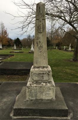 Picture of Makaraka cemetery, block MKB, plot 81.