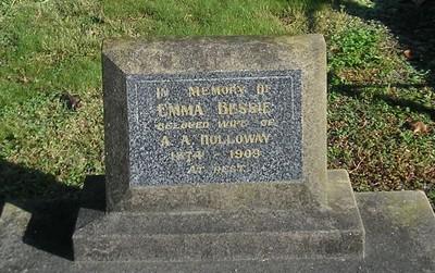 Picture of Makaraka cemetery, block MKC, plot 1161.
