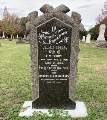 Picture of Makaraka cemetery, block MKC, plot 1178.