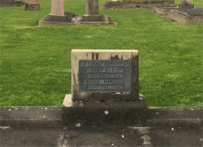 Picture of Makaraka cemetery, block MKC, plot 1238A.