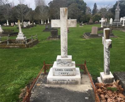 Picture of Makaraka cemetery, block MKC, plot 1241.