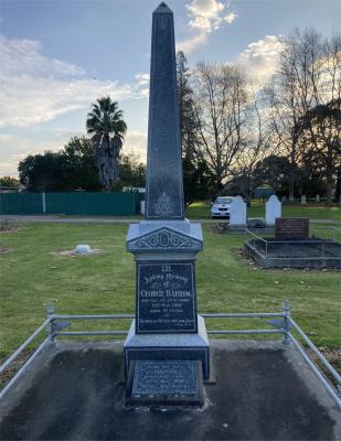 Picture of Makaraka cemetery, block MKC, plot 1250.