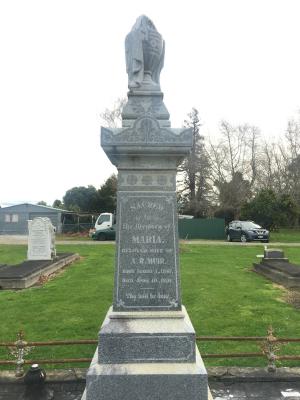 Picture of Makaraka cemetery, block MKC, plot 1254.