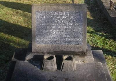 Picture of Makaraka cemetery, block MKC, plot 1262.