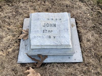 Picture of Makaraka cemetery, block MKC, plot 1353.