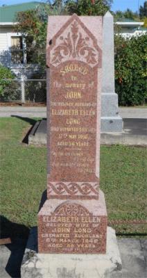 Picture of Makaraka cemetery, block MKC, plot 1373.