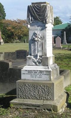 Picture of Makaraka cemetery, block MKC, plot 942.