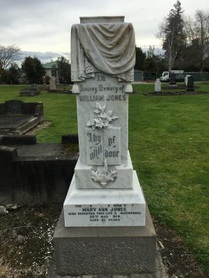 Picture of Makaraka cemetery, block MKC, plot 943.