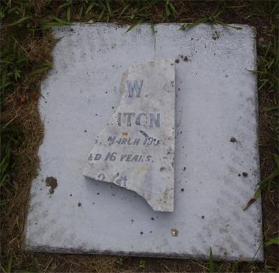 Picture of Makaraka cemetery, block MKC, plot 945.