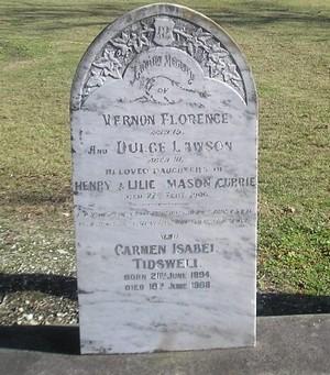 Picture of Makaraka cemetery, block MKC, plot 947.
