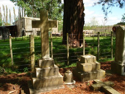 Picture of Makaraka cemetery, block MKE, plot 1546.