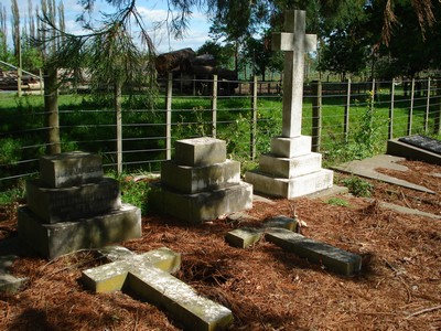 Picture of Makaraka cemetery, block MKE, plot 1547.