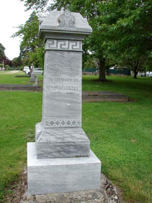 Picture of Makaraka cemetery, block MKE, plot 1593.