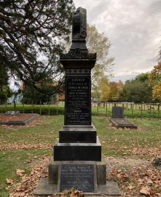 Picture of Makaraka cemetery, block MKE, plot 1658.