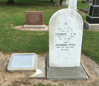 Picture of Makaraka cemetery, block MKF, plot 1008.