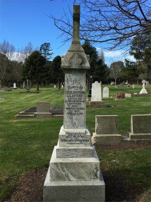 Picture of Makaraka cemetery, block MKF, plot 1135.