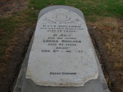 Picture of Makaraka cemetery, block MKF, plot 1304.