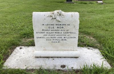 Picture of Makaraka cemetery, block MKG, plot 515.