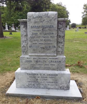 Picture of Makaraka cemetery, block MKG, plot 537.