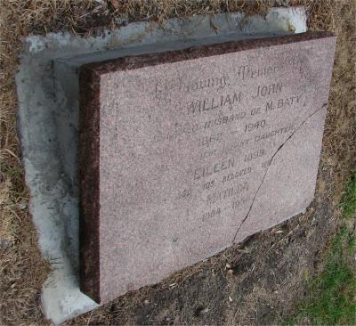 Picture of Makaraka cemetery, block MKG, plot 539.