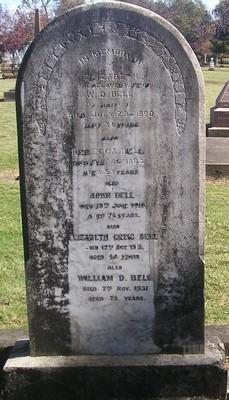 Picture of Makaraka cemetery, block MKH, plot 243.