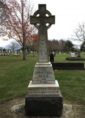 Picture of Makaraka cemetery, block MKH, plot 255.