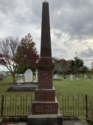 Picture of Makaraka cemetery, block MKH, plot 326.