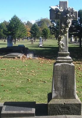 Picture of Makaraka cemetery, block MKH, plot 411.