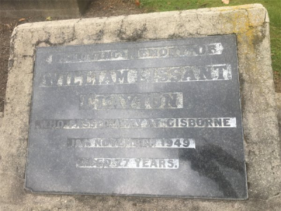 Picture of Makaraka cemetery, block MKH, plot 430.