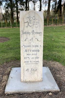 Picture of Makaraka cemetery, block MKJ, plot 855.