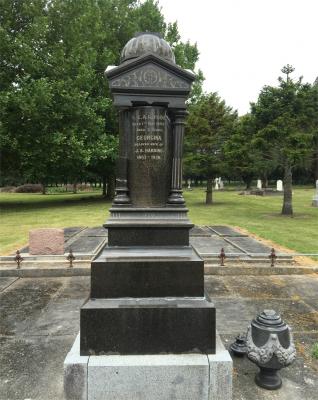Picture of Makaraka cemetery, block MKL, plot D.