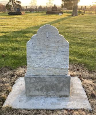 Picture of Makaraka cemetery, block MKM, plot 1087.