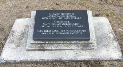 Picture of Makaraka cemetery, block MKM, plot 1440.