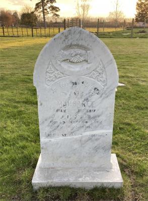 Picture of Makaraka cemetery, block MKM, plot 1453.