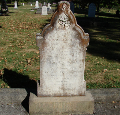 Picture of Makaraka cemetery, block MKOLD, plot 58.