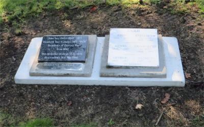 Picture of Makaraka cemetery, block MKOLD, plot 62.