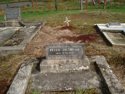 Picture of Motu cemetery, block MOTU1, plot 26B.
