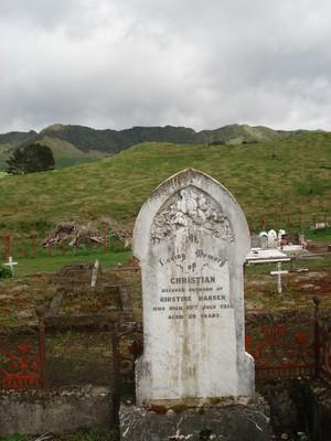 Picture of Motu cemetery, block MOTU1, plot 4.